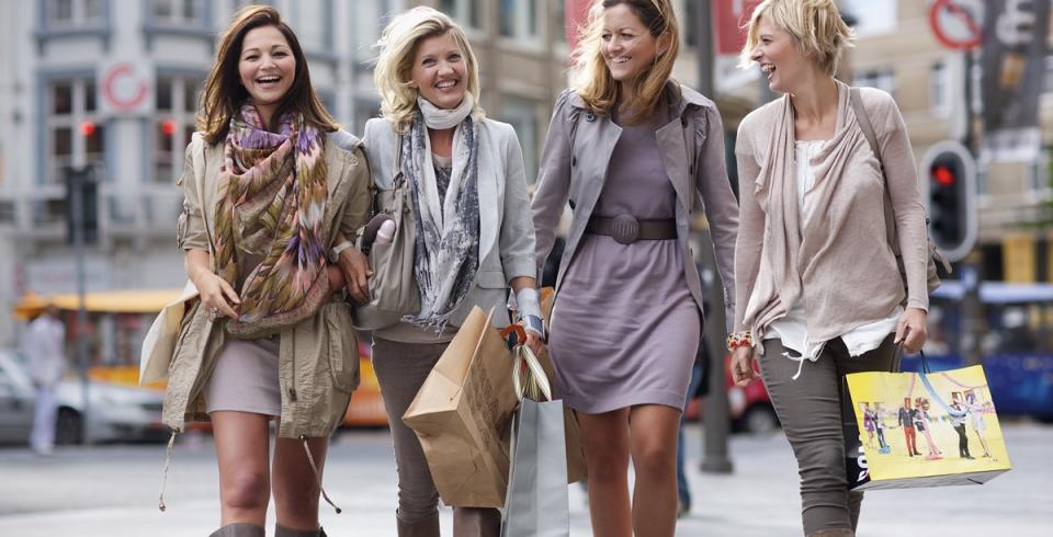Winkelen met de dames
